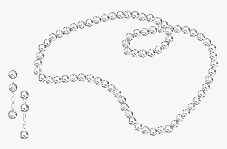 Diamond Necklace And Earrings Png Clipart Picture - Necklace And Earrings Png, Transparent Png, Free Download