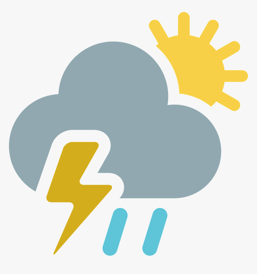Partly Cloudy Free Illustration Cloud Sun Rain Image - Changing Weather Conditions, HD Png Download, Free Download