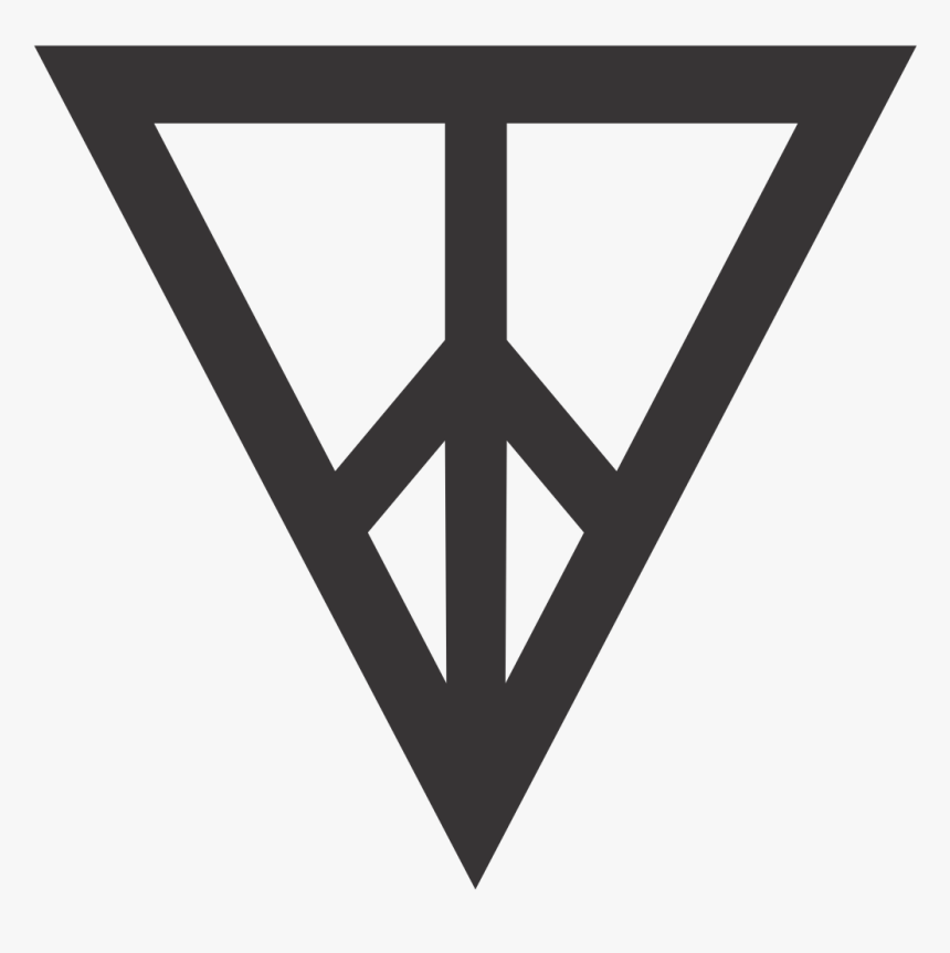 Girls, Hipster, And Illuminati Image - Black And White Triangle Tumblr Hd, HD Png Download, Free Download