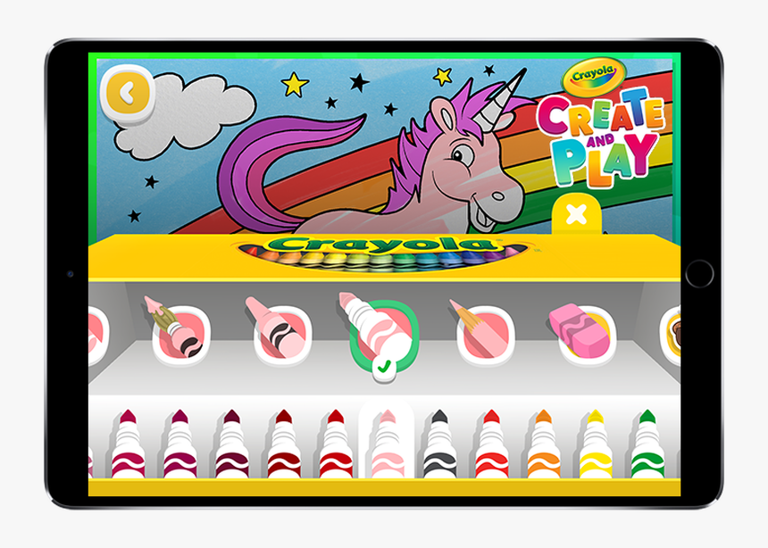 Crayola Create And Play App, HD Png Download, Free Download