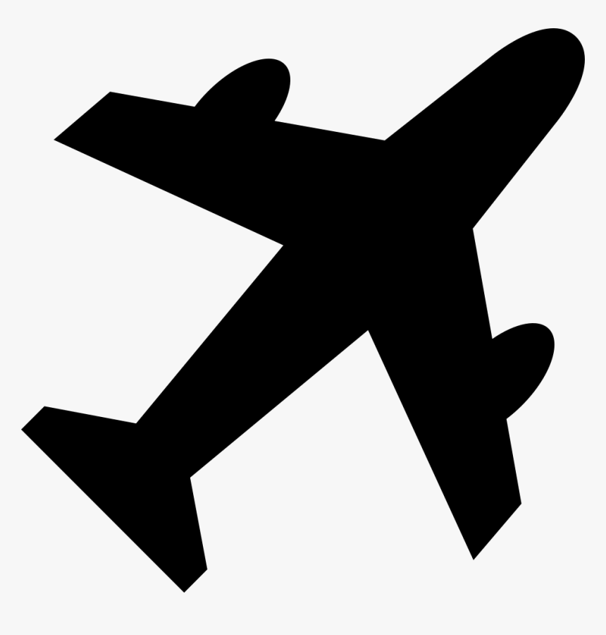 Plane Icon Png Black Airplane Icon Png Transparent Png Kindpng