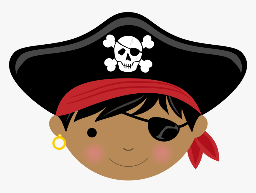 Girl Pirate Eye Patch Cartoon, HD Png Download, Free Download