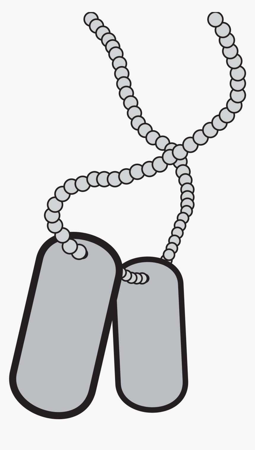 Military Dog Tags Clipart, HD Png Download, Free Download