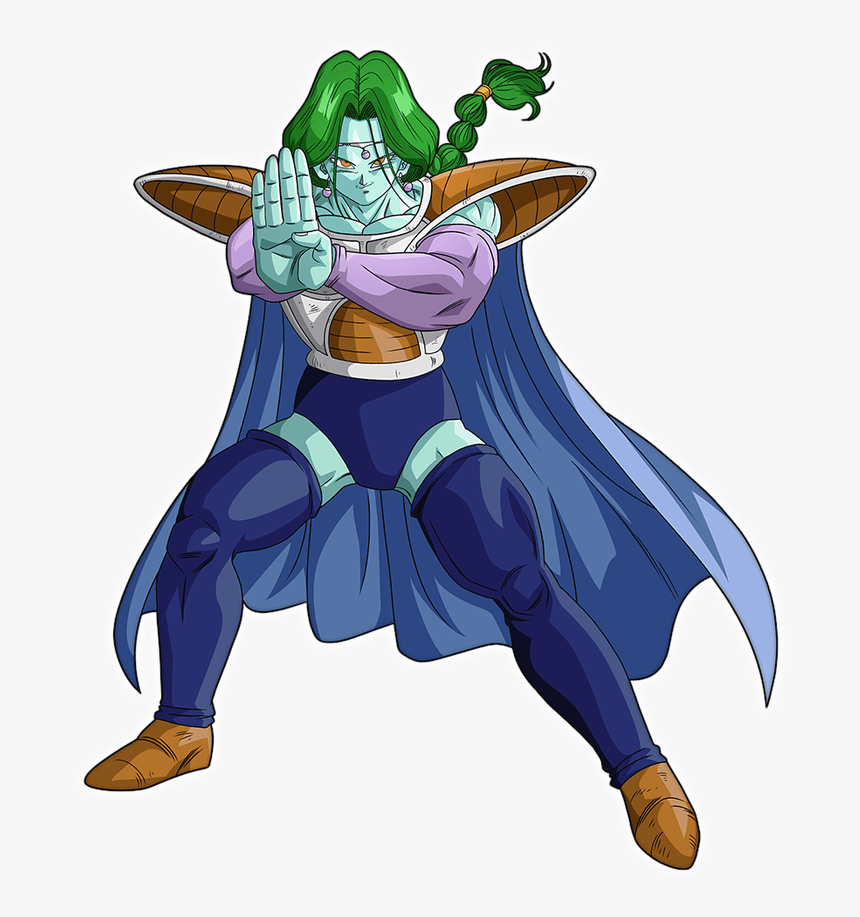 Anime, Dragon Ball, Dragon Ball Z, Zarbon - Dbz Zarbon Png, Transparent Png, Free Download