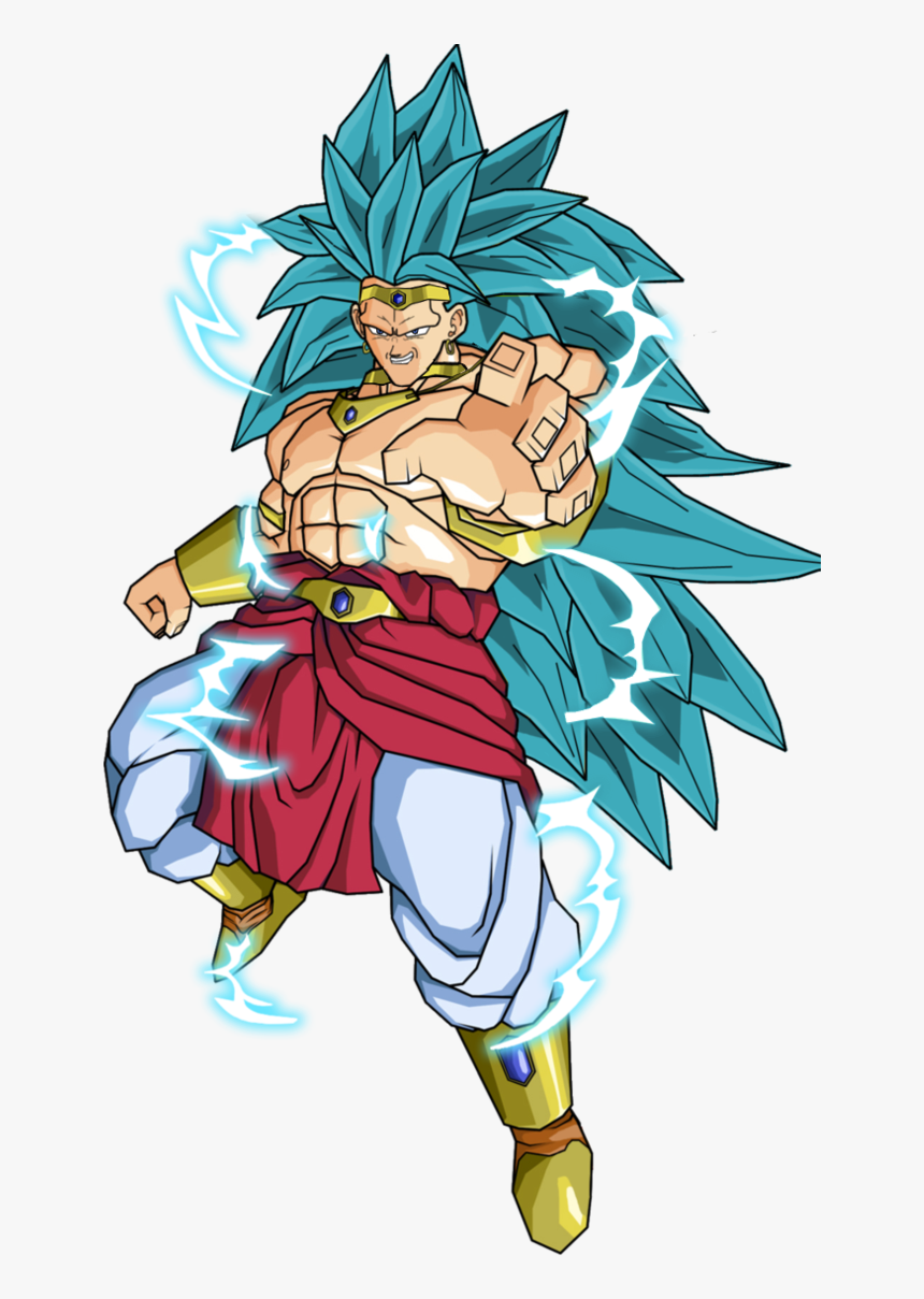Clipart Freeuse Broly Transparent Blue Hair Controlled - Dragon Ball Super Broly Png, Png Download, Free Download