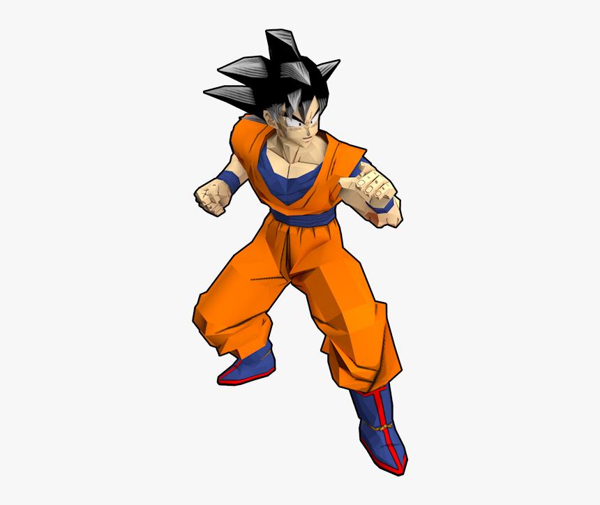 Download Zip Archive - Dragon Ball Z Budokai Goku Ssj, HD Png Download, Free Download