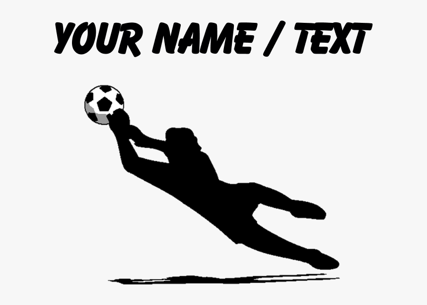Transparent Soccer Silhouette Clipart, HD Png Download, Free Download
