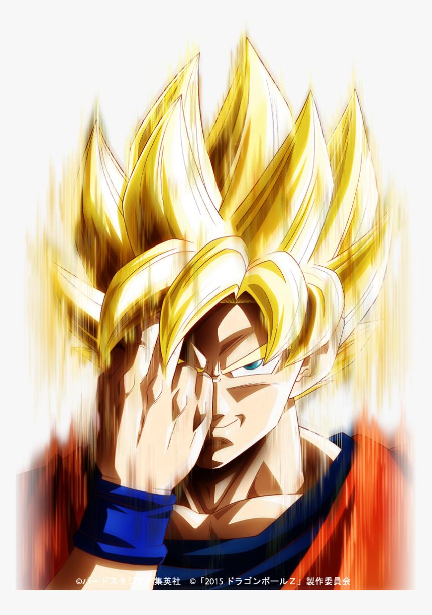Last Instant Transmission Super Saiyan Goku Hd Png Download Kindpng
