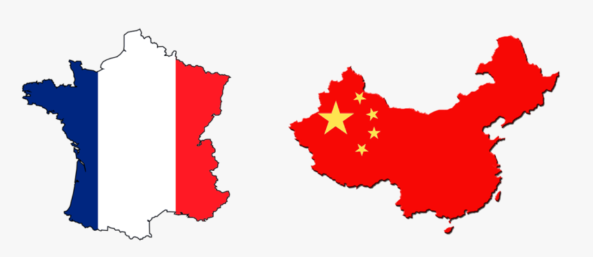 Transparent French Flag Clipart China Flag On Country Hd Png Download Kindpng