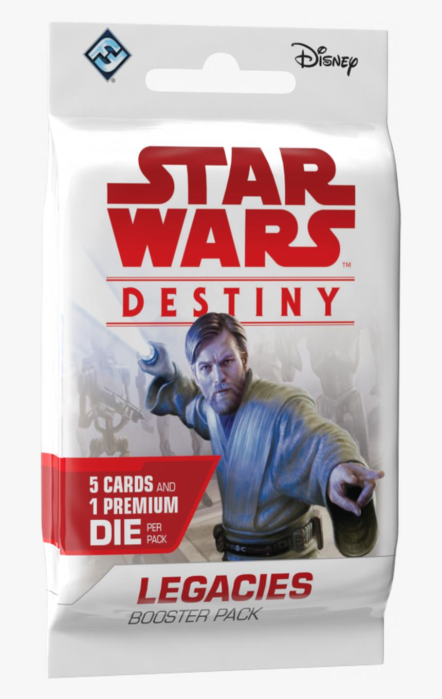 Star Wars Destiny - Star Wars Destiny Legacies Booster Pack, HD Png Download, Free Download