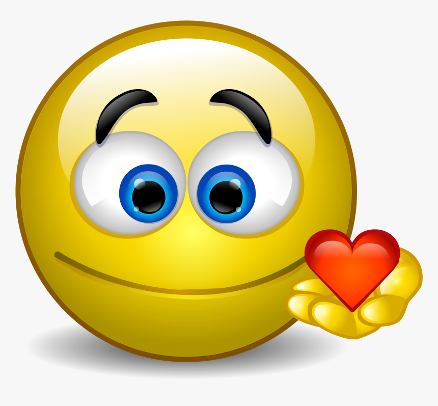 Smiley Png - Love Smiley, Transparent Png, Free Download