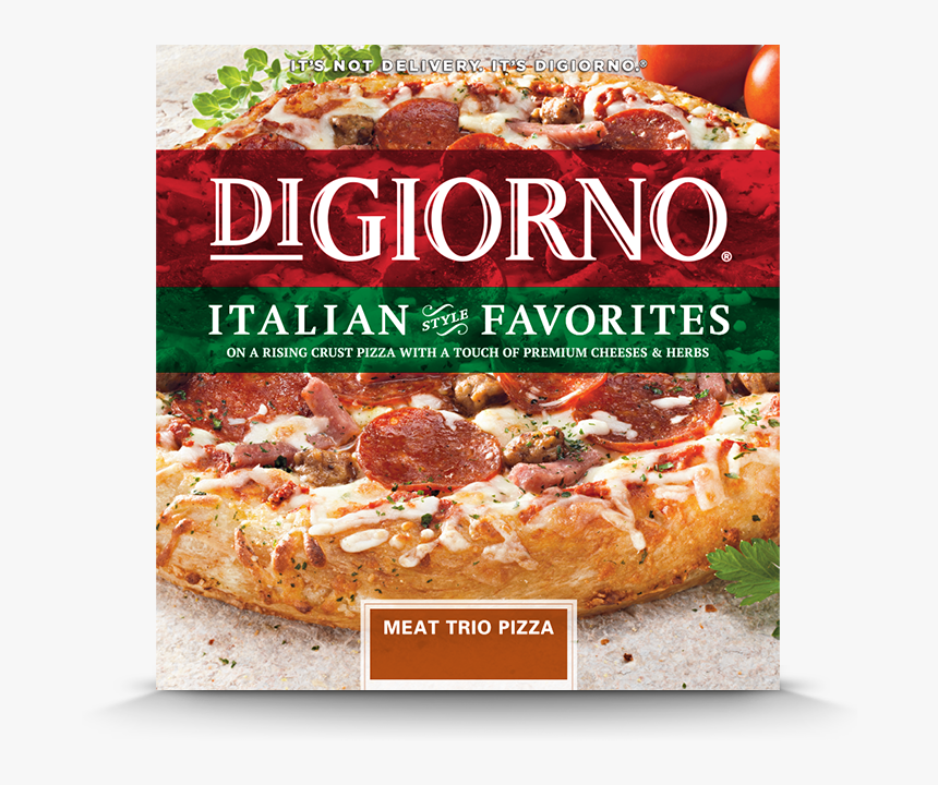 Transparent Pizza Chef Png - Digiorno Pizza Meat Trio, Png Download, Free Download