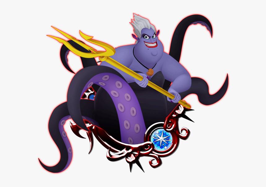 Transparent King Triton Png - Kingdom Hearts Key Art 11, Png Download, Free Download