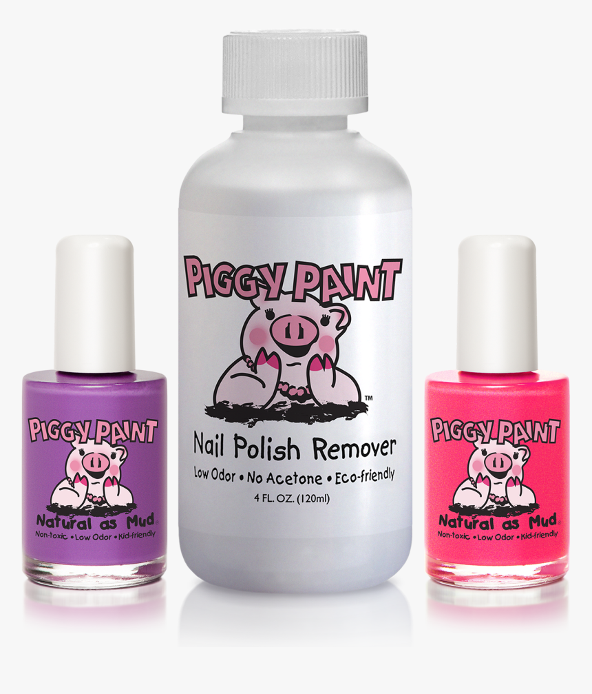 Piggy Paint Nail Polish Remover, HD Png Download, Free Download