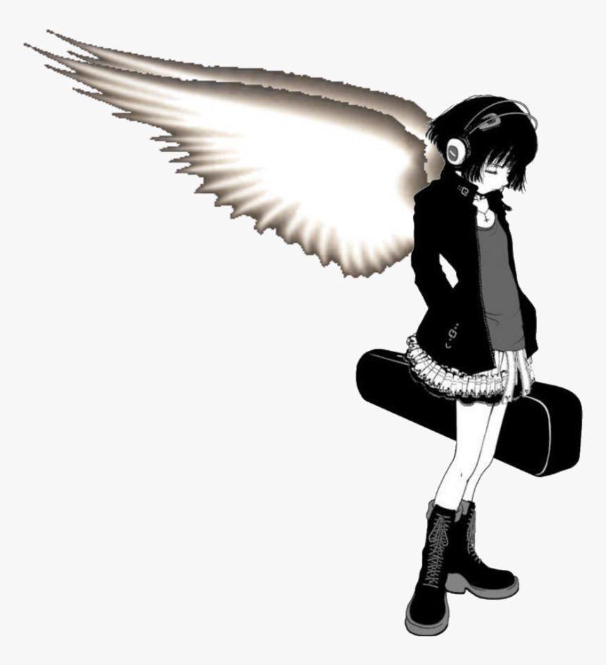 emo anime girl