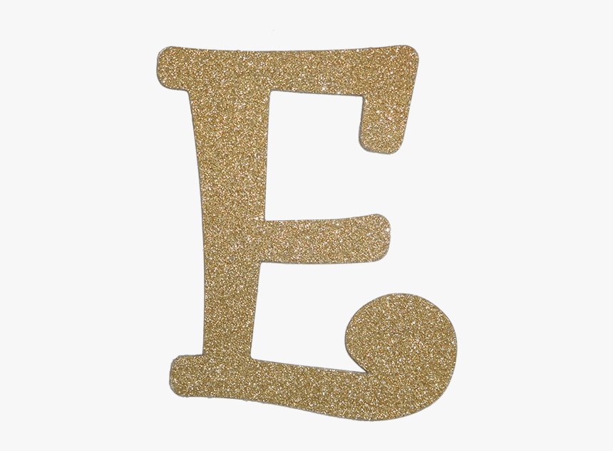 Diamond Letter E Gold, HD Png Download, Free Download
