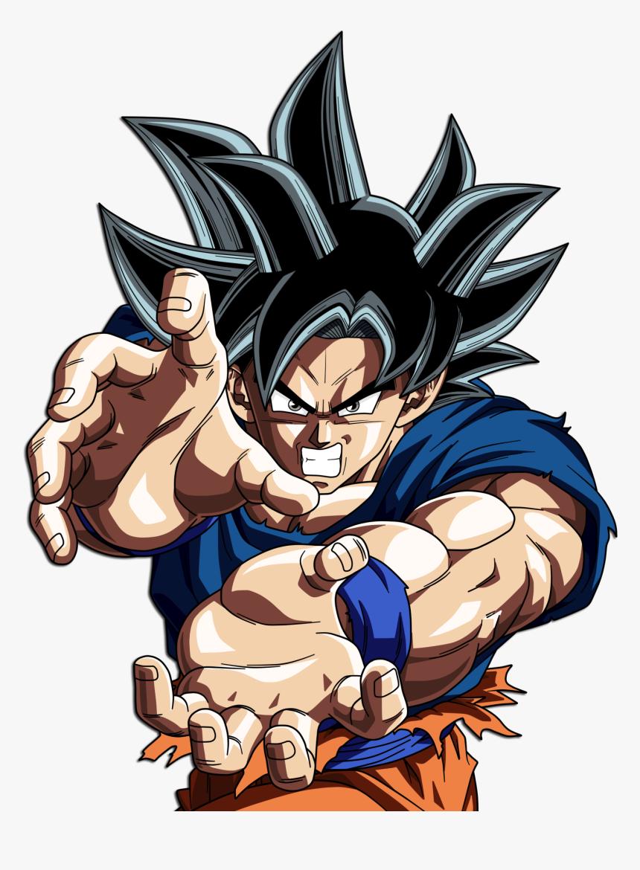 Goku Ultra Instinct Kamehameha Hd Png Download Kindpng
