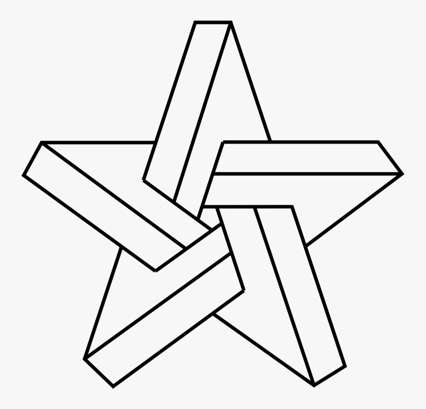 Draw An Impossible Star, HD Png Download, Free Download