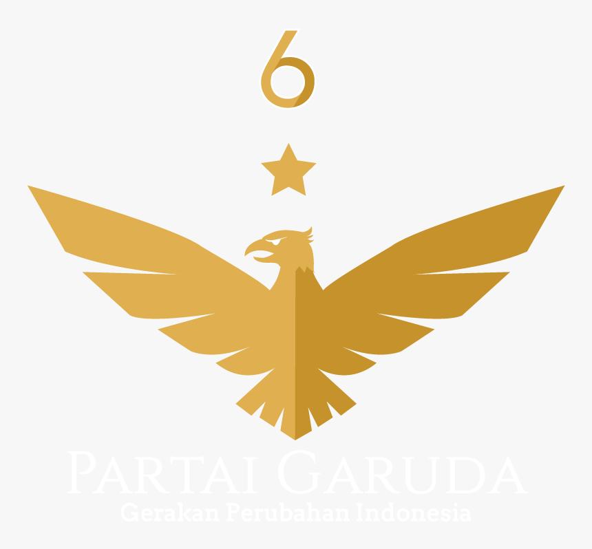 Logo Partai Garuda Medium - Logo Partai Garuda Vector, HD Png Download, Free Download
