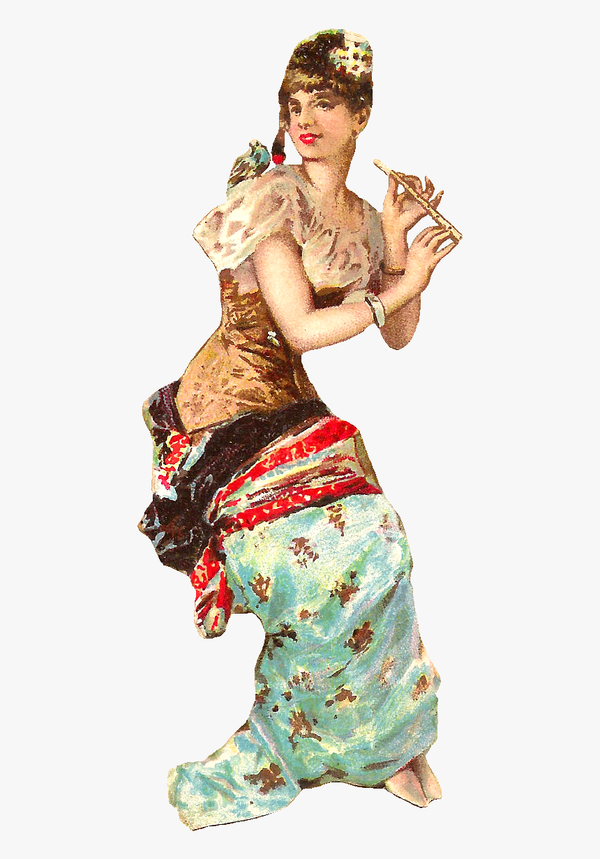 Victorian Woman Clipart - Dancer, HD Png Download, Free Download