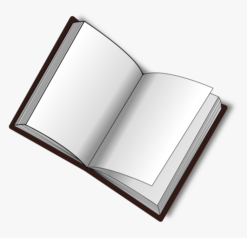 Open Book Clip Art Png - Open Book Clip Art, Transparent Png, Free Download