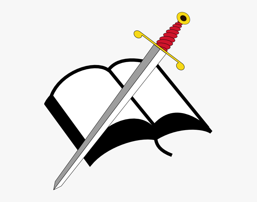 Open Books Clip Art Openclipart Black And White Illustration - Open Bible  Clipart Png, Transparent Png - kindpng