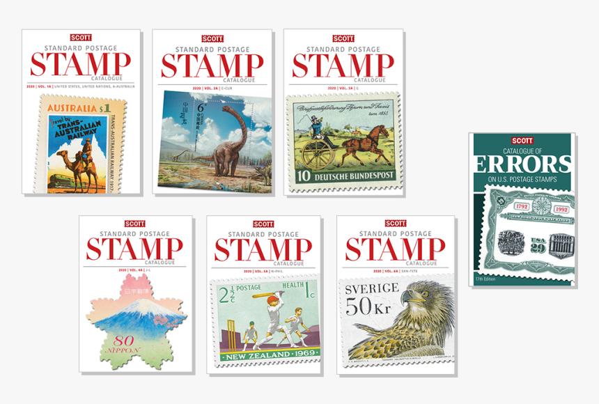 2020 Scott Standard Catalogue Set Retail - Postage Stamp, HD Png Download, Free Download