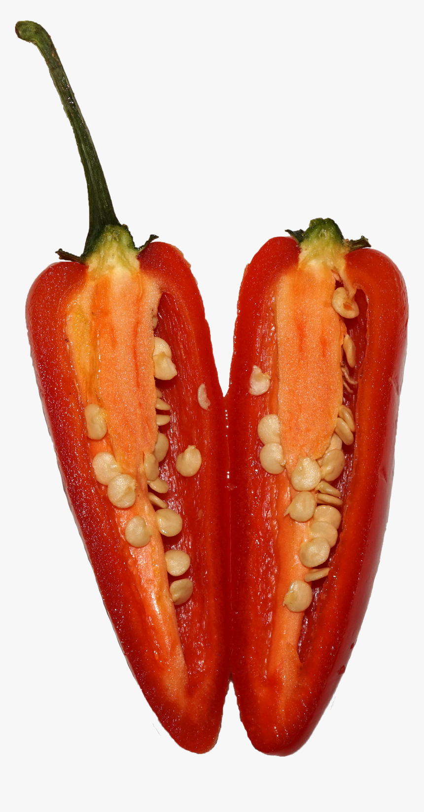 Chili Peppers And Chili Peppers,natural Foods,bell - Red Bell Pepper, HD Png Download, Free Download