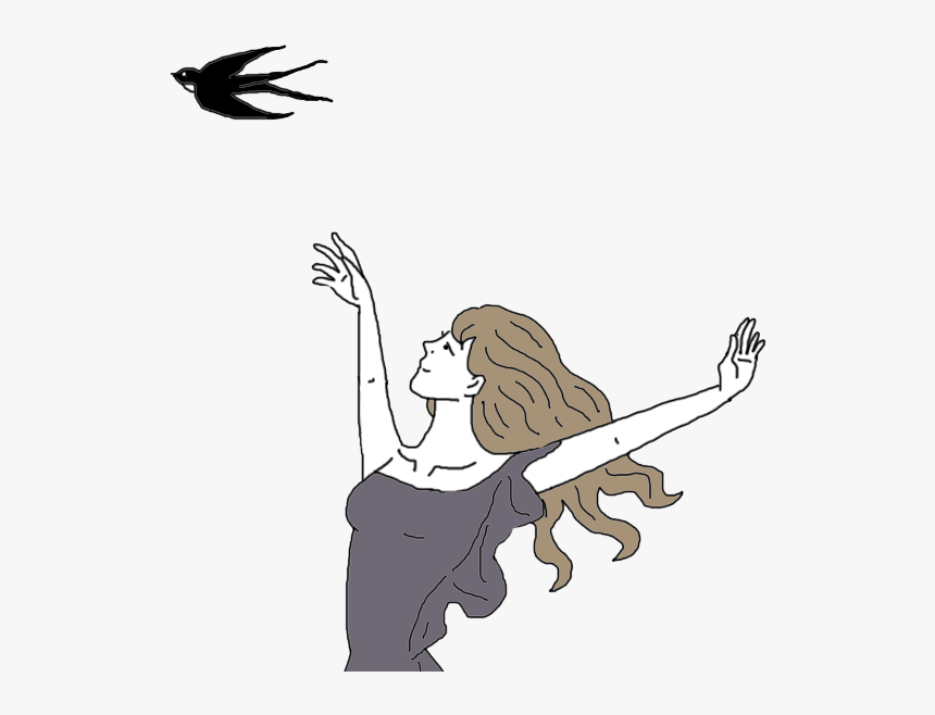Transparent Swallow Clipart - Swallow Tattoo, HD Png Download, Free Download