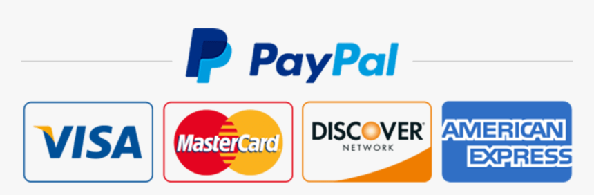 No-title - Credit Card Paypal Logo, HD Png Download - kindpng