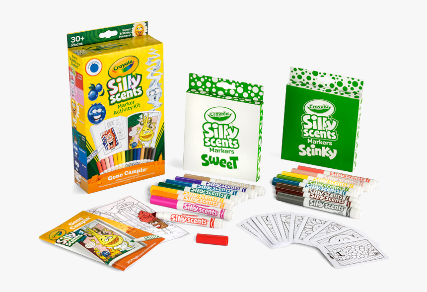 Stinky And Sweet Scents Now Available - Stinky Crayola Silly Scents, HD Png Download, Free Download