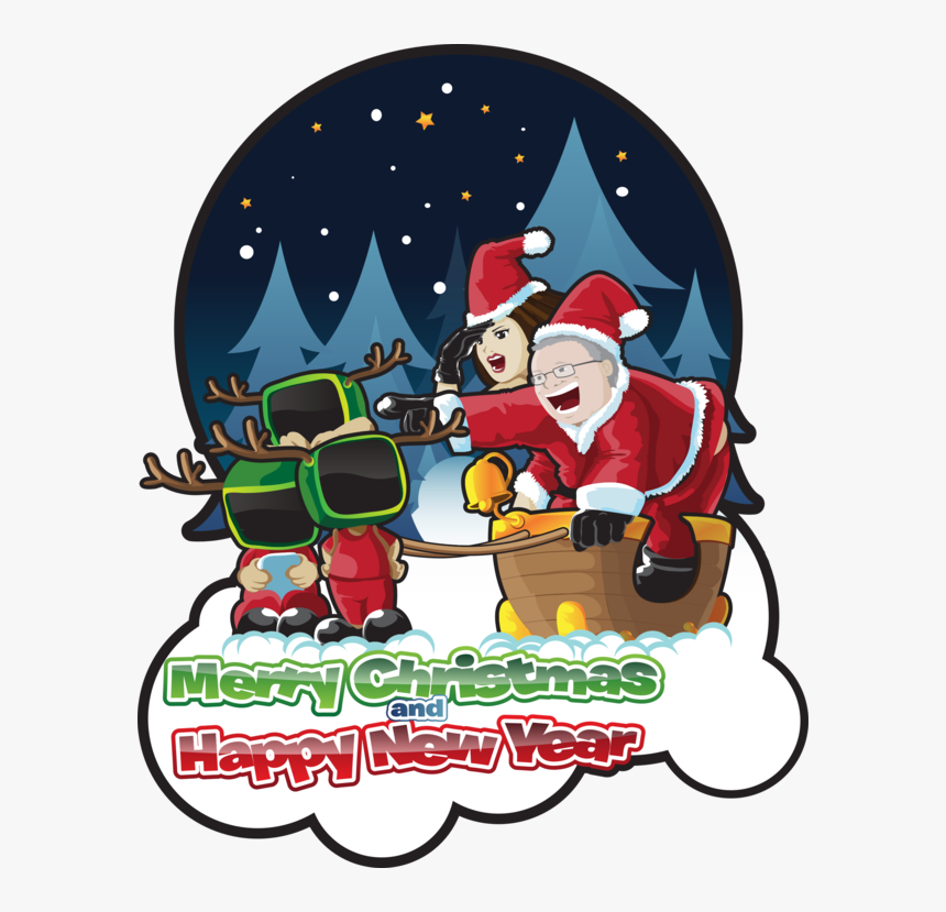 Cartoon,christmas Eve,fictional Character - Christmas Day, HD Png Download, Free Download