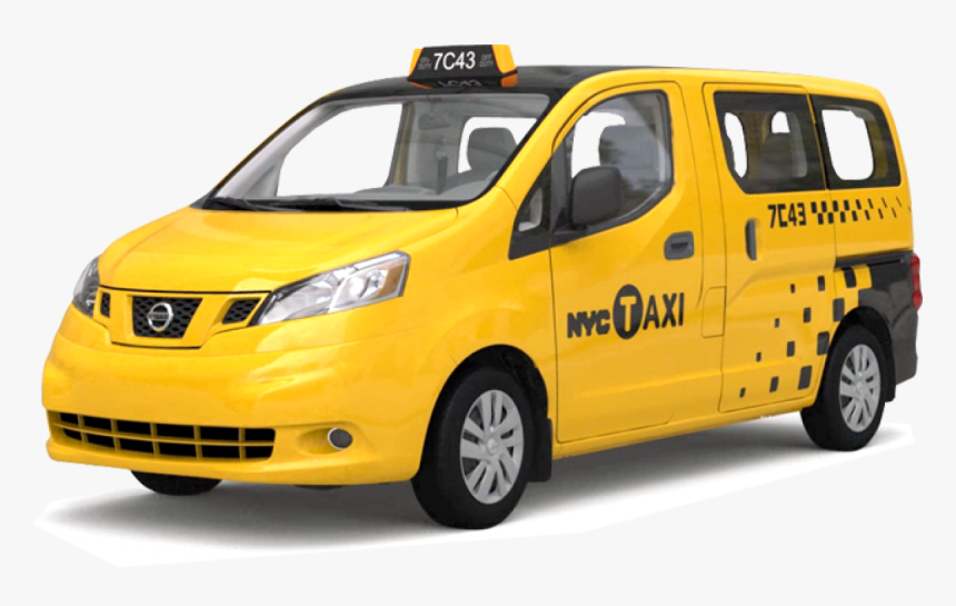 Nissan Nv200 New York City Taxi, HD Png Download, Free Download
