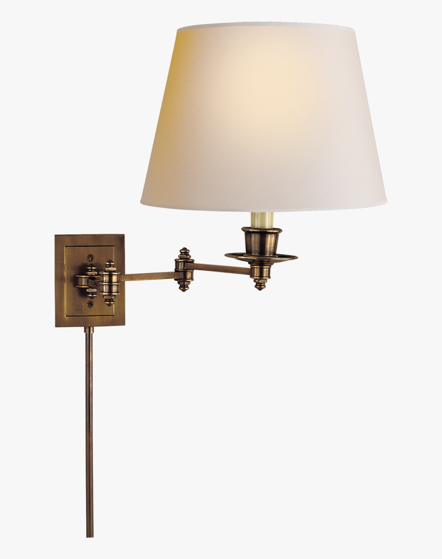 Swing Arm Wall Sconce Amusing Triple Swing Arm Wall - Visual Comfort-triple Swing Arm Wall Lamp S 2000, HD Png Download, Free Download