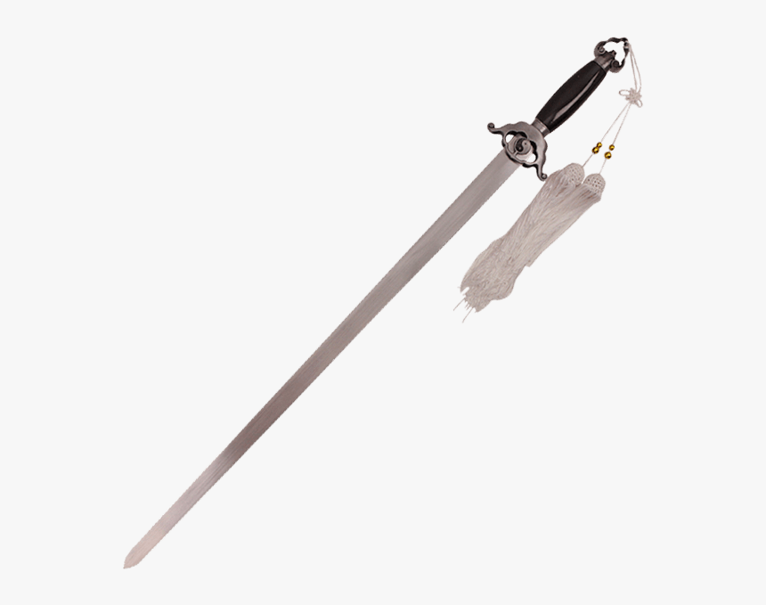 Black Tao Tai Chi Sword - Rapala Shift Centerpin Rod, HD Png Download, Free Download
