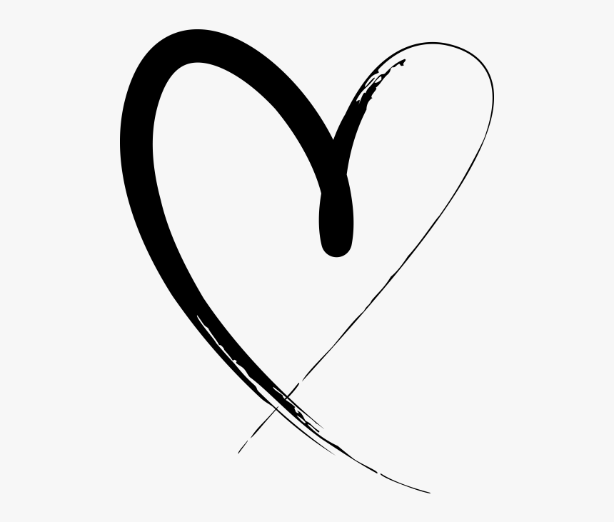 Hand Drawn Heart, HD Png Download, Free Download