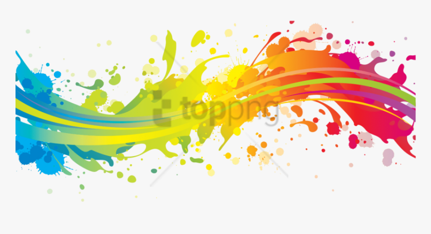 Free Png Color Splash Png Png Image With Transparent - Transparent Color Splash Png, Png Download, Free Download
