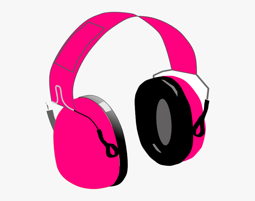 Headphones Clipart Free On Transparent Png - Headphones Clipart Hd, Png Download, Free Download