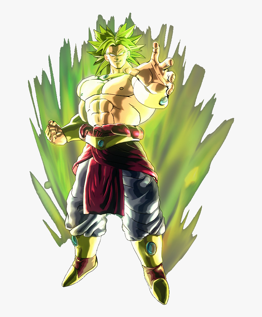 Fictional Battle Omniverse Wiki - Broly Art Xenoverse 2, HD Png Download, Free Download
