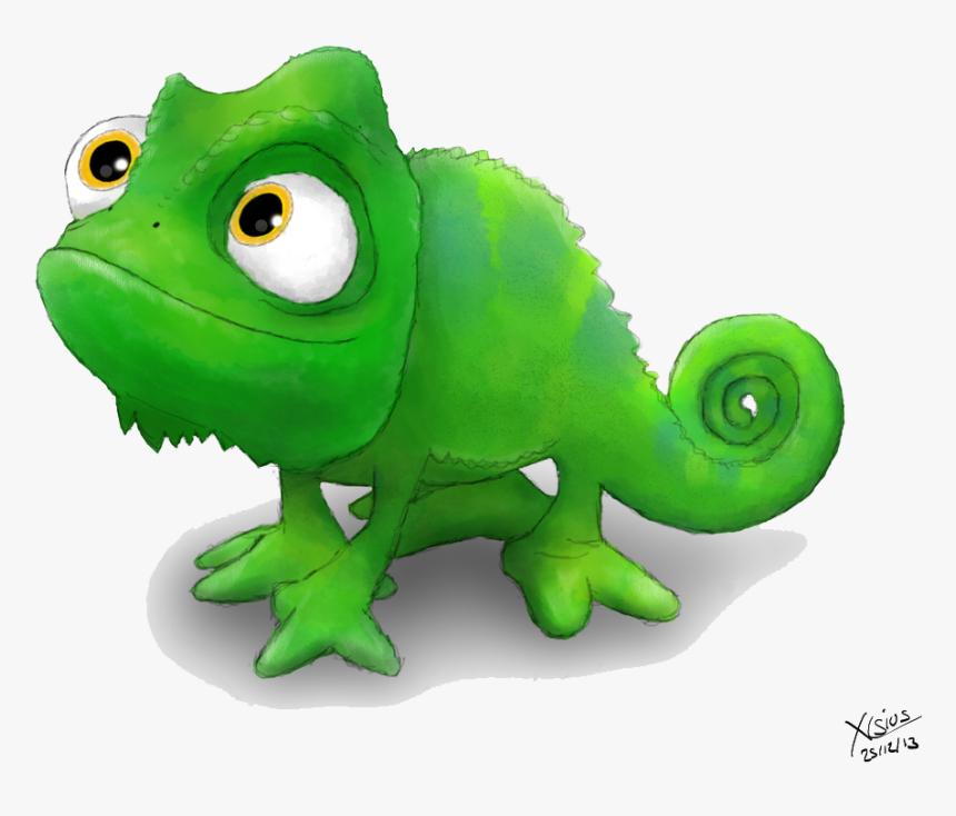 rapunzel chameleon, hd png download - kindpng