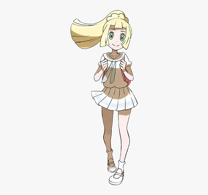 Pokemon Ultra Sun And Ultra Moon Lillie, HD Png Download, Free Download