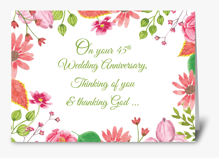 Religious 1st Wedding Anniversary Greeting Card Greeting Card Wedding Anniversary Hd Png Download Kindpng