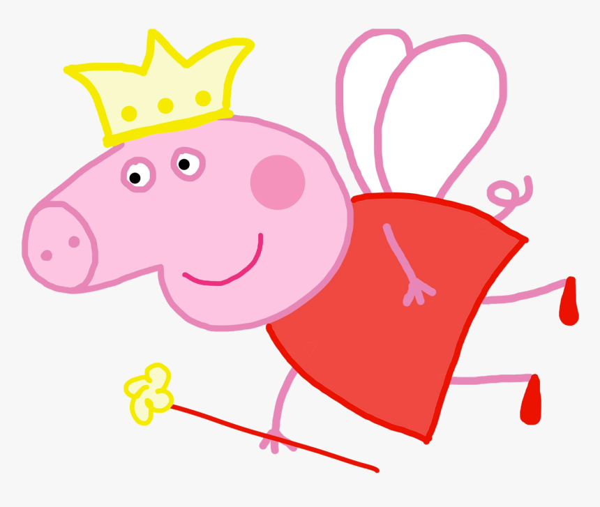 Peppa Pig Princess Clipart Free Coloring Sheets - Peppa Pig ...