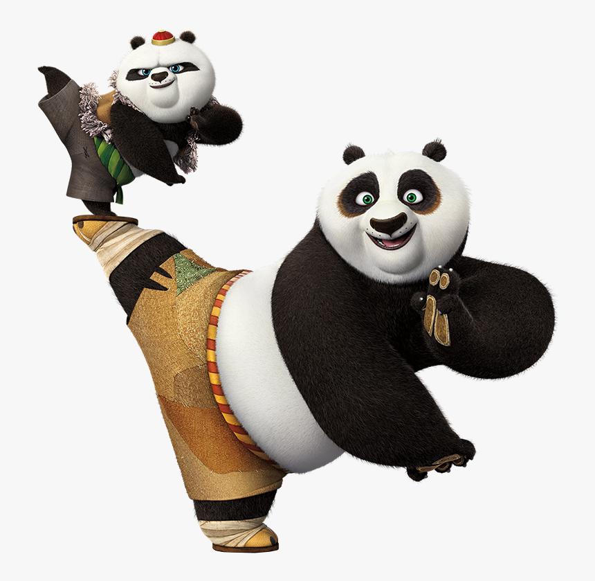 Transparent Baby Panda Png Kung Fu Panda 3 Png Png Download Kindpng