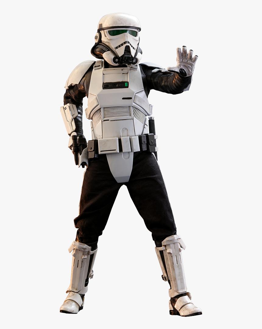 Star Wars Patrol Trooper Sixth Scale Figure By Hot - Star Wars Patrol Trooper, HD Png Download, Free Download