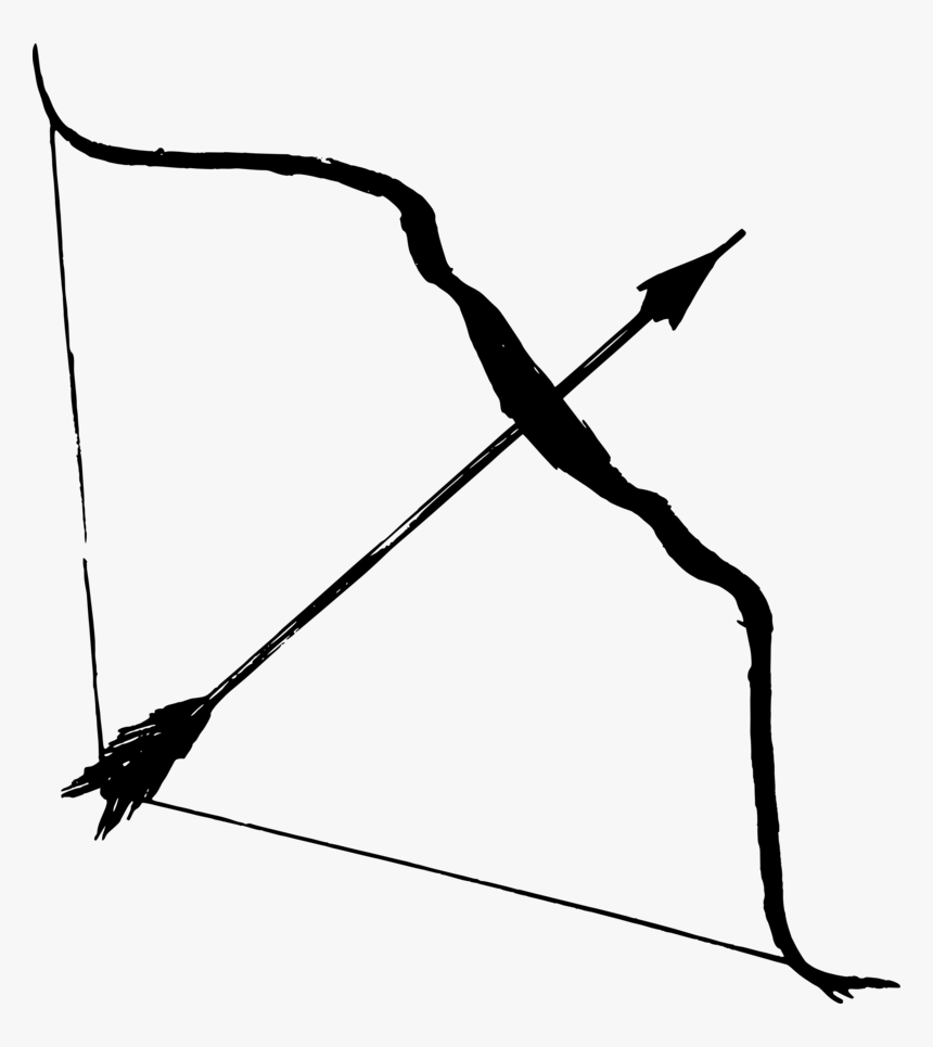 Arrow Bow Png Hd - Bow And Arrow Png, Transparent Png, Free Download