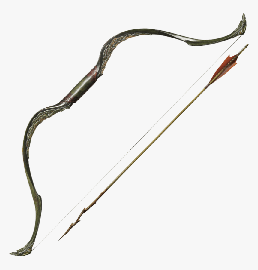 Bow And Arrow Of Tauriel - Bow And Arrow Viking, HD Png Download, Free Download
