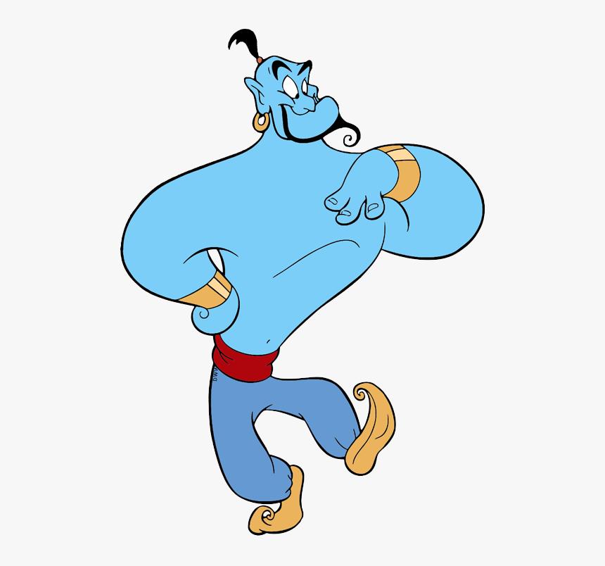 Aladdin Png Galore - Genie Aladdin, Transparent Png, Free Download