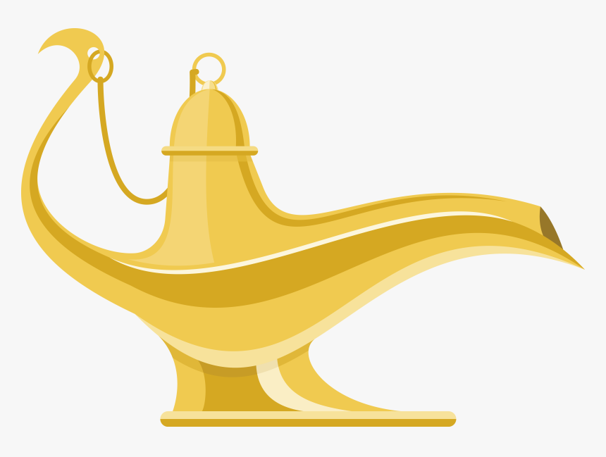 Vector Magic Lamp Png Download - Aladdin Lamp Vector Png, Transparent Png, Free Download