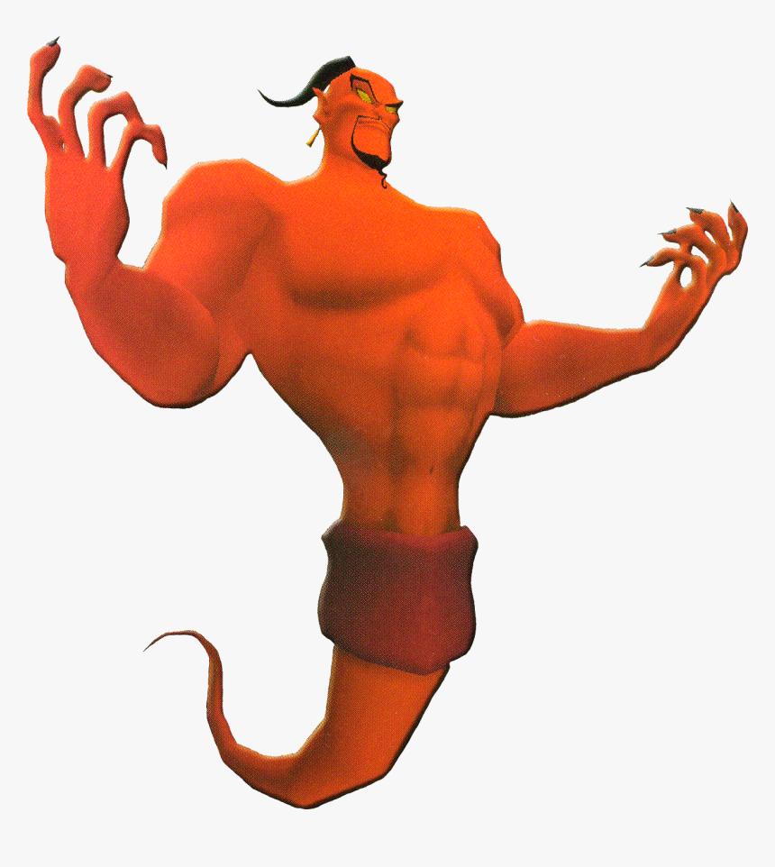 Aladdin Jafar Genie , Png Download - Aladdin Jafar Genie, Transparent Png, Free Download